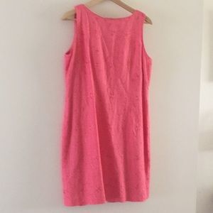 Jessica Howard Embroidered Coral Sheath Size 12P